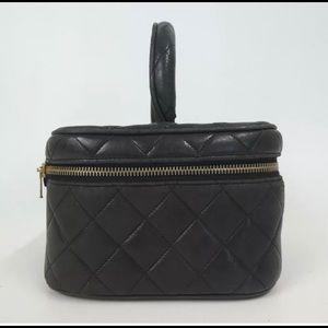 CHANEL Bags - Auth Chanel Vintage Vanity Clutch Bag c75bb3eb349d0